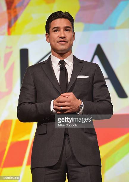 Television personality/actor Mario Lopez hosts the Walter Kaitz Dinner 30th Anniversary gala at the Marriott Marquis Times Square on October 9 2013...