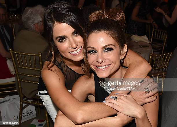 Television personality/actress Maria Menounos and actress Nikki Reed attend The Kaleidoscope Ball – Designing the Sweet Side of L.A. Benefiting the...