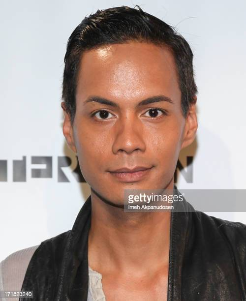 Television personality/drag queen Raja attends Logo's 'Hot 100' Party at Drai's Lounge in W Hollywood on June 25 2013 in Hollywood California
