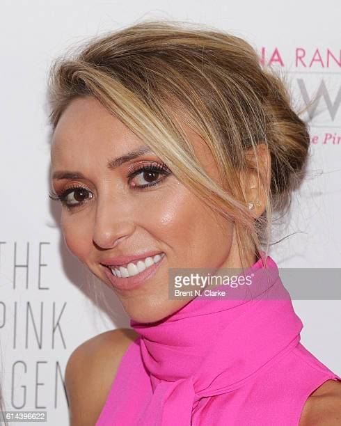 Television personality/event hostess Giuliana Rancic attends The Pink Agenda's 2016 Gala held at Three Sixty on October 13 2016 in New York City