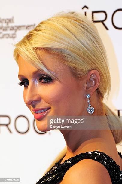 Television personality/model Paris Hilton arrives to host a birthday bash for Jennifer Rovero at the Pure Nightclub at Caesars Palace on December 14...
