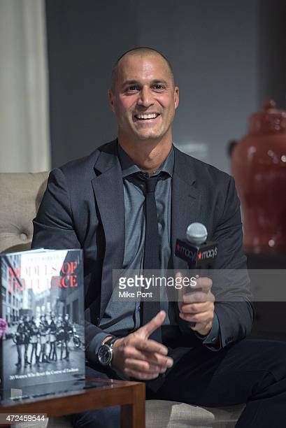 Television personality/photographer Nigel Barker visits Macy's Herald Square on May 7 2015 in New York City