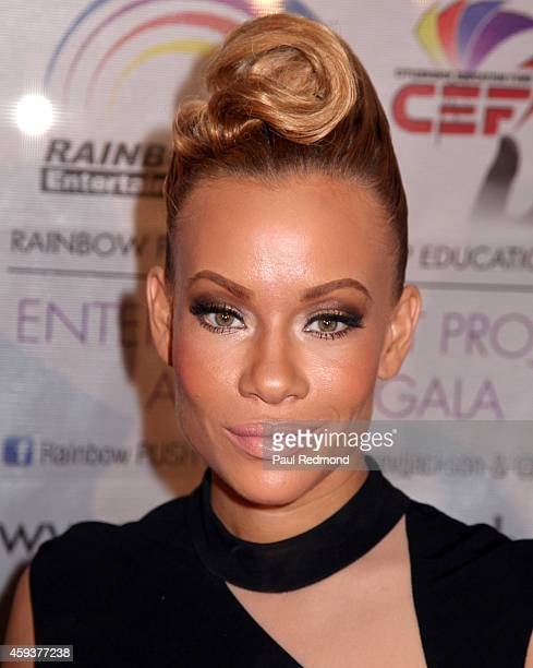 Television personality/RB Divas LA Brave Williams attends the 16th Annual Rainbow PUSH Entertainment Project And Citizenship Education Fund Awards...