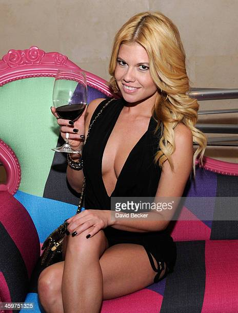 Television personality/recording artist Chanel West Coast appears at N9NE Steakhouse at the Palms Casino Resort on December 29 2013 in Las Vegas...
