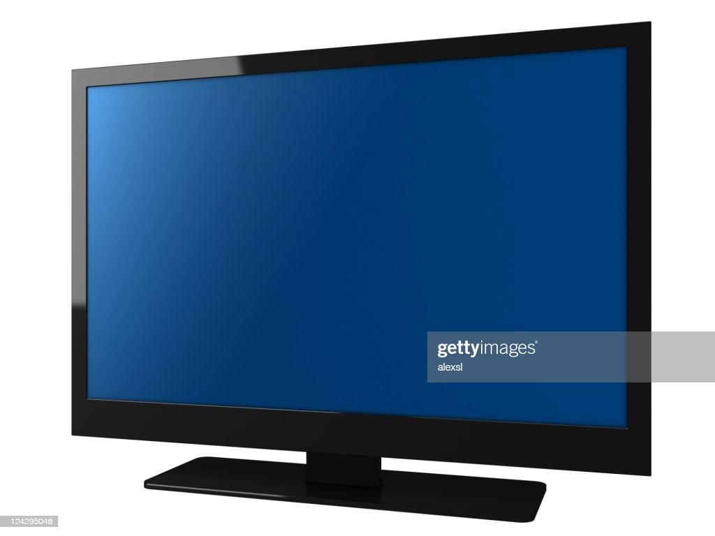 Televisão de LCD : Foto de stock