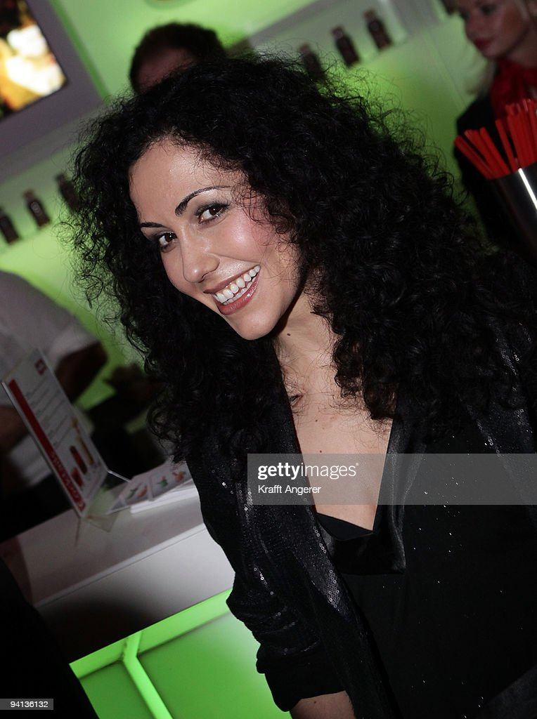 Television presenter Anastasia Zampounidis attends the Movie Meets Media 10th Anniversary event on December 07, 2009 in Hamburg, Germany.