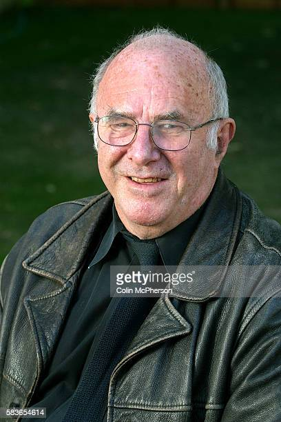 Television presenter and critic Clive James pictured at the Edinburgh International Book Festival where he discussed his essay work The Book Festival...