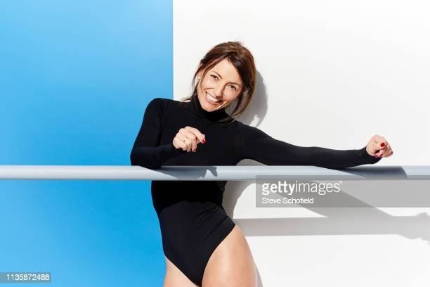 Television presenter and model Davina McCall is photographed for You magazine on April 30 2018 in London England