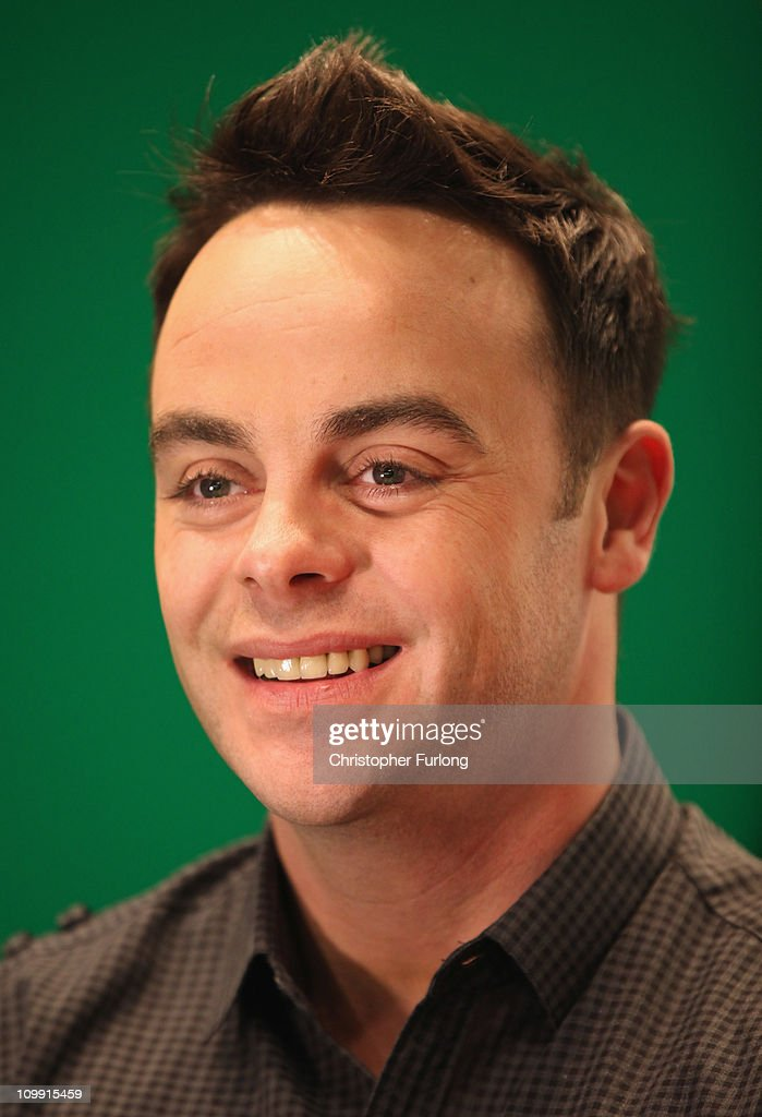 Television presenter Ant McPartlin pictured attending the first day of the annual Crufts dog show at the National Exhibition Centre on March 10, 2011 in Birmingham, England. During this year's four-day competition nearly 22,000 dogs and their owners will vie for a variety of accolades, ultimately seeking the coveted 'Best In Show'.