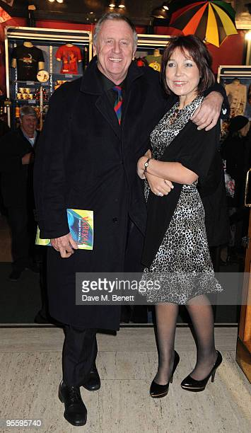 Television presenter Chris Tarrant and Jane Bird arrive at Cirque du Soleil's Varekai gala opening night at the Royal Albert Hall January 5 2009 in...