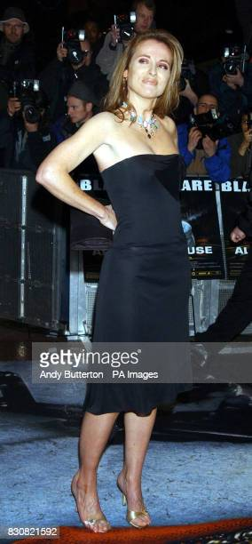 Television presenter Daisy Donovan arriving at the Empire Cinema in London's Leicester Square for the premiere of Ali G InDaHouse