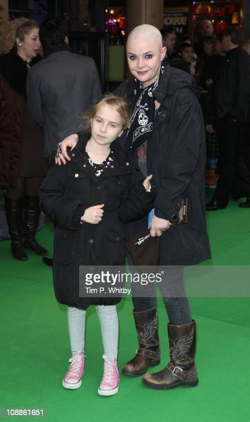 Television presenter Gail Porter and guest attends the UK Gala Screening of Yogi Bear 3D at the Vue Leicester Square on February 6 2011 in London...