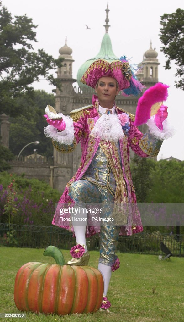 Television presenter Julian Clary as pantomime character Dandini the aide de c& to Prince Charming  sc 1 st  Getty Images & Julian Clary Dandini Pictures   Getty Images