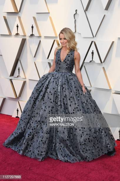 US television presenter Kelly Ripa arrives for the 91st Annual Academy Awards at the Dolby Theatre in Hollywood California on February 24 2019