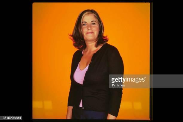 Television presenter Liza Tarbuck, circa 1999.