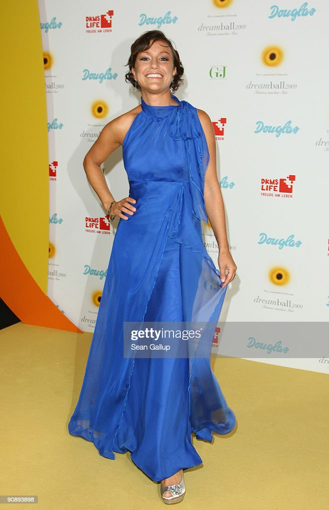 Television presenter Miriam Pielhau attends the dreamball 2009 charity gala at the Ritz-Carlton on September 17, 2009 in Berlin, Germany.