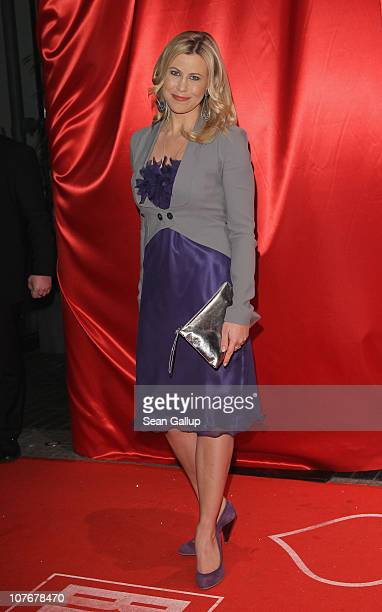 Television presenter Nadine Krueger attends the 'Ein Herz Fuer Kinder' charity gala at Axel Springer Haus on December 18, 2010 in Berlin, Germany.
