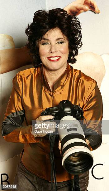 Television presenter Ruby Wax attends the Press Conference and Photocall for Jim Carrey's new film Bruce Almighty at the Dorchester Hotel on June 9...