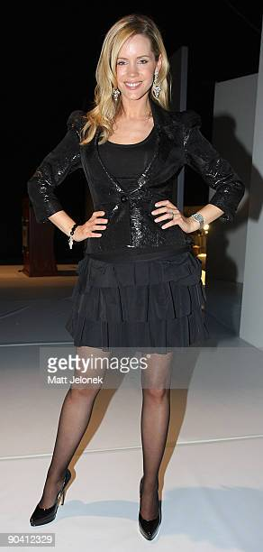Television presenter Sophie Faulkiner is seen at Chadwick Perth Model Search at Fashion Central on September 6 2009 in Perth Australia