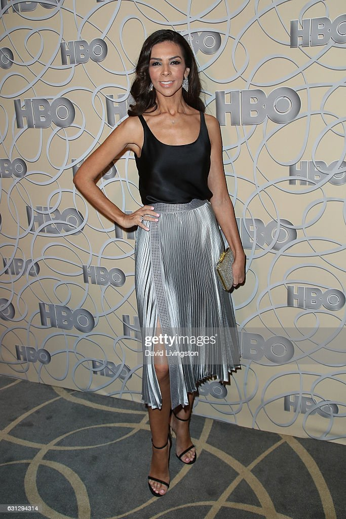 Television presenter Terri Seymour arrives at HBO's Official Golden Globe Awards after party at the Circa 55 Restaurant on January 8, 2017 in Los Angeles, California.