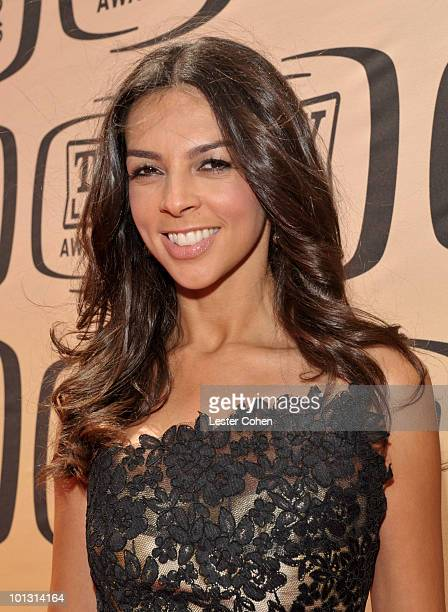 Television presenter Terri Seymour arrives at the 8th Annual TV Land Awards at Sony Studios on April 17 2010 in Los Angeles California