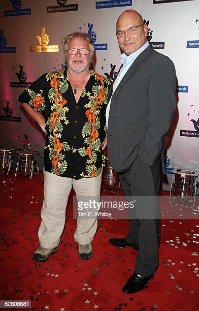 Television presenters Bill Oddie and Greg Wallace pose on arriving at The National Lottery Awards, the annual search to find the UK's favourite...