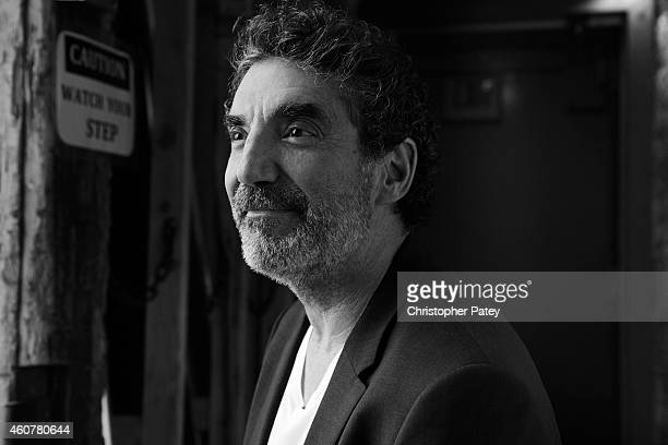 Television producer Chuck Lorre is photographed for The Hollywood Reporter on September 29 2014 in Los Angeles California