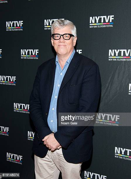 Television producer Peter Tolan attends the NYTVF Development Day panels during the 12th Annual New York Television Festival at Helen Mills Theater...