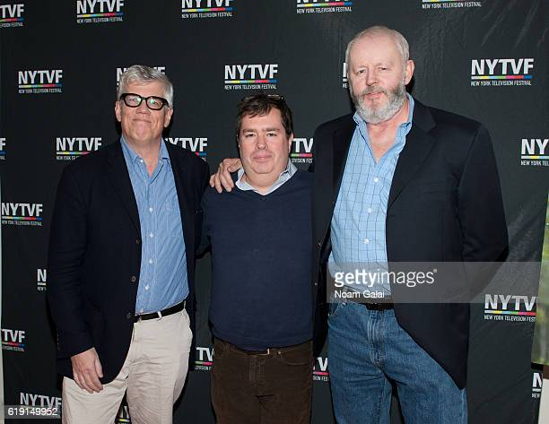 Television producer Peter Tolan founder of New York Television Festival Terence Gray and actor David Morse attend the NYTVF Development Day panels...