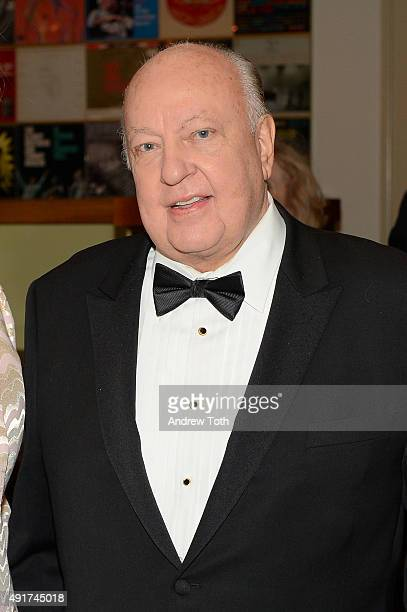 Television Producer Roger Ailes attends the Carnegie Hall 125th Season Opening Night Gala at Carnegie Hall on October 7 2015 in New York City