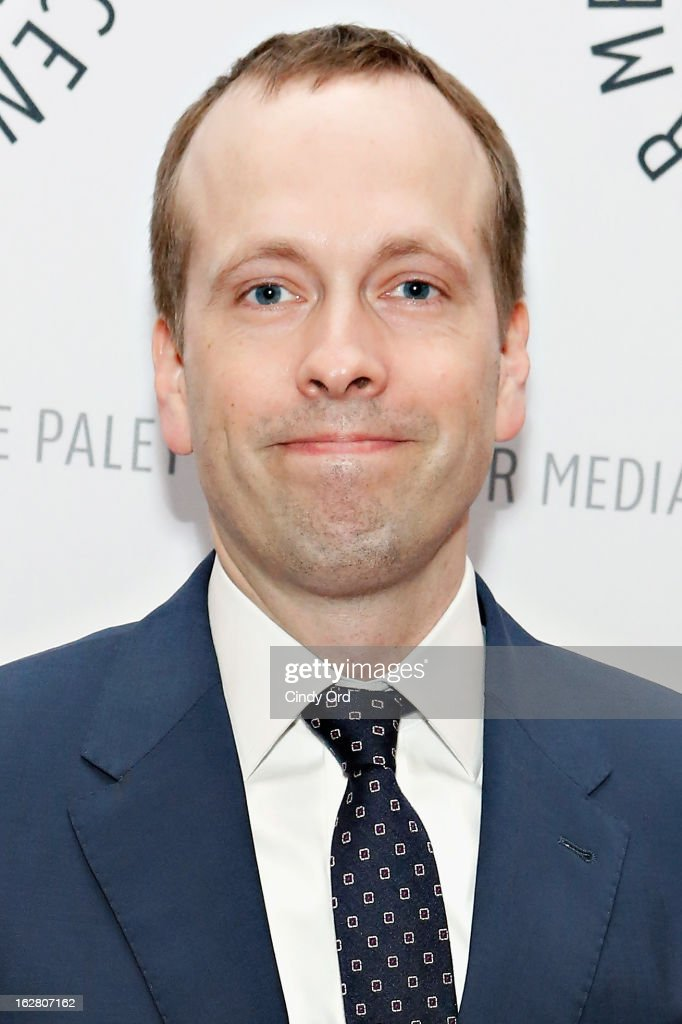 Television producer/ writer Robert Carlock attends The Paley Center for Media Presents: 'Hey Dummies: An Evening With The 30 Rock Writers' at The Paley Center for Media on February 27, 2013 in New York City.