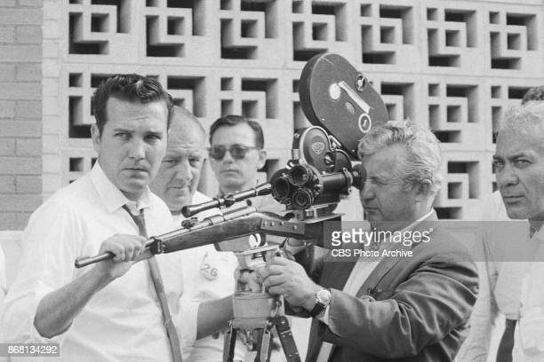 CBS television production CBS News Inquiry The Warren Report broadcast over four consecutive nights from Sunday June 25 1967 CBS examines questions...