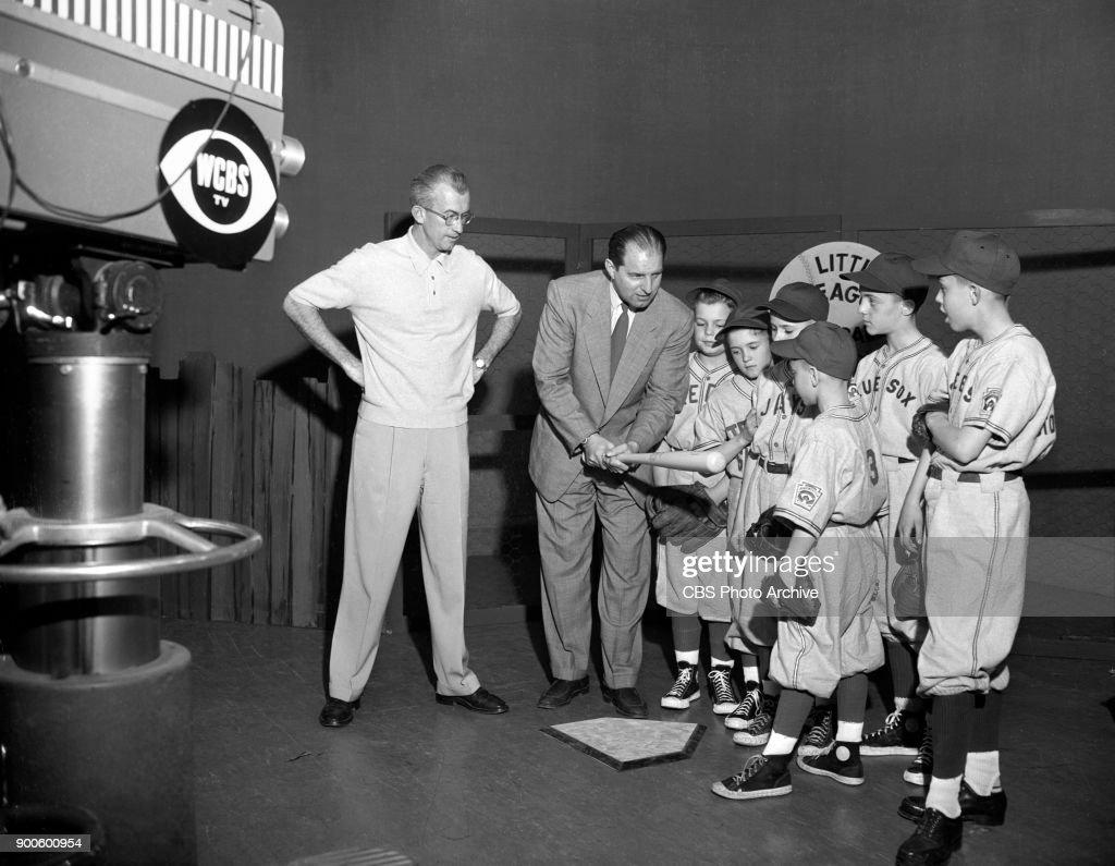 "NY: CBS's ""Little League Baseball School"""