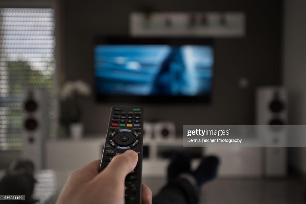 Television remote control : Stock Photo