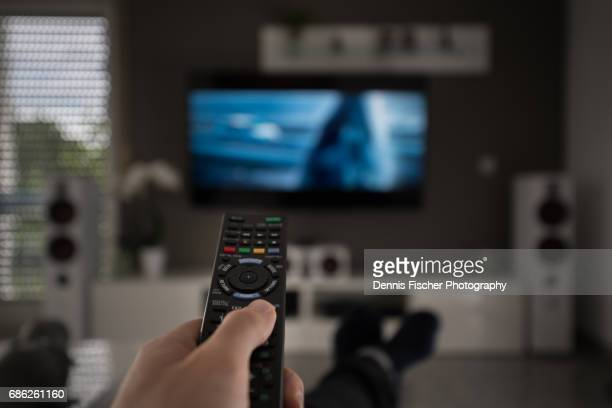 television remote control - remote controlled stock photos and pictures