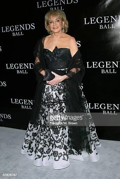 Television reporter Barbara Walters attends Oprah Winfrey's Legends Ball at the Bacara Resort and Spa on May 14 2005 in Santa Barbara California