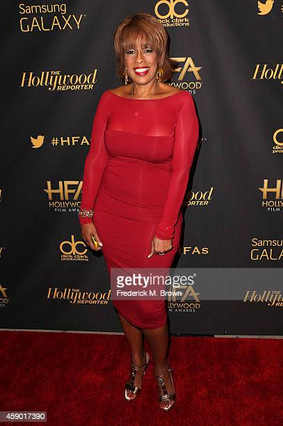 Television reporter Gayle King attends The Hollywood Reporter's 18th Annual Hollywood Film Awards After Party at the W Hollywood on November 14 2014...