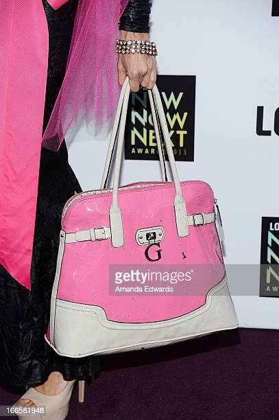 Television reporter Tamara Henry arrives at the Logo NewNowNext Awards 2013 at The Fonda Theatre on April 13 2013 in Los Angeles California