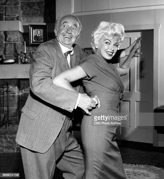 CBS television rural comedy The Real McCoys Episode The Politician originally broadcast October 8 1959 Pictured from left is Walter Brennan as and...