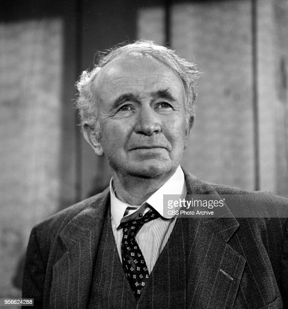 CBS television rural comedy The Real McCoys Episode The Politician originally broadcast October 8 1959 Pictured is Walter Brennan as