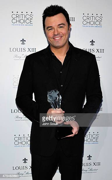 Television Series Creator Seth MacFarlane winner of the Critics' Choice LOUIS XIII Genius Award attends the 5th Annual Critics' Choice Television...