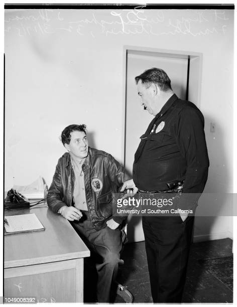 Television set shooting, 17 March 1952. Thomas F Steiner -- 32 years ;Lieutenant George Cunningham ..