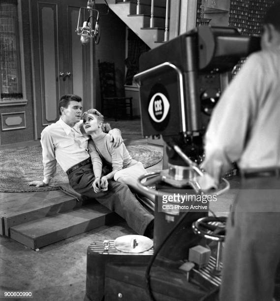 CBS television situation comedy program My Favorite Husband Joan Caulfield and Barry Nelson Image dated May 11 1953 Los Angeles CA