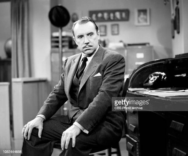 CBS television situation comedy The Box Brothers Pictured is Gale Gordon Image dated October 9 1956 Los Angeles CA