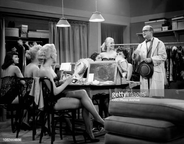 CBS television situation comedy The Box Brothers Pictured standing at far right is Bob Sweeney Image dated October 9 1956 Los Angeles CA