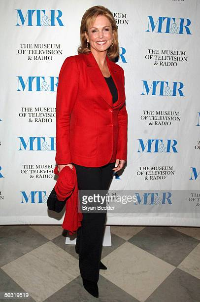 Television Sportscaster Phyllis George arrives at the launch party for She Made It Women Creating Television and Radio December 1 2005 in New York...
