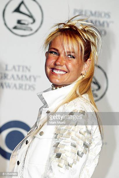 ee27941615d94 Television Star Xuxa poses backstage at the  5th Annual Latin Grammy  Awards  held on