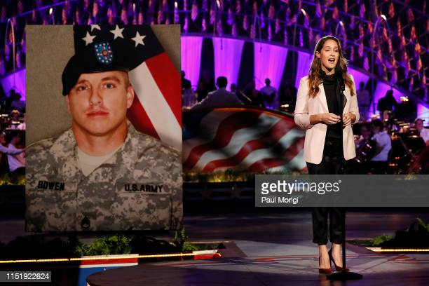Television starJaina Lee Ortizonstage at the 2019 National Memorial Day Concert at US Capitol West Lawn on May 26 2019 in Washington DC