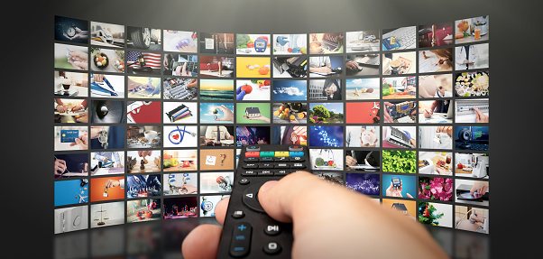 Television streaming video. Media TV on demand 1078740886
