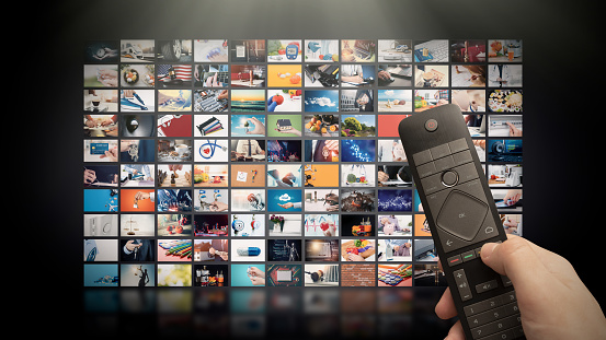Television streaming video. Media TV on demand 1131624289